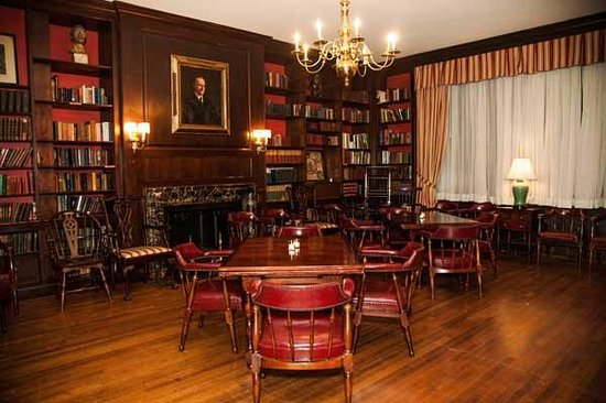 3 West Club: Library