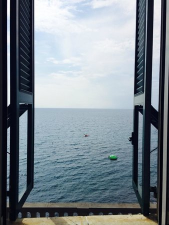 Hotel Casmona : Room with a view