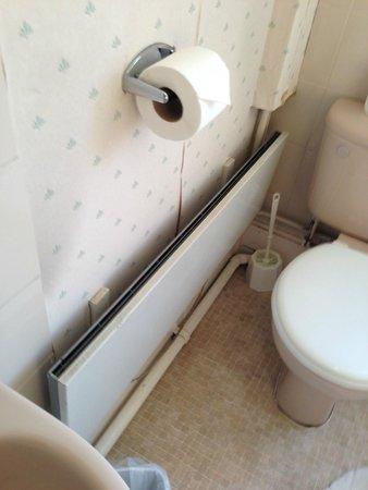 Hillingdon Prince Hotel: Bathroom heater context
