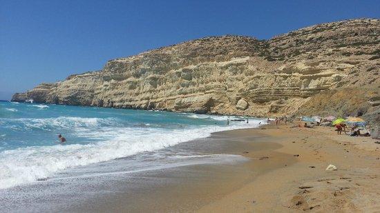 Red Sand Beach (Kokkini Ammos): La splendida Red Beach