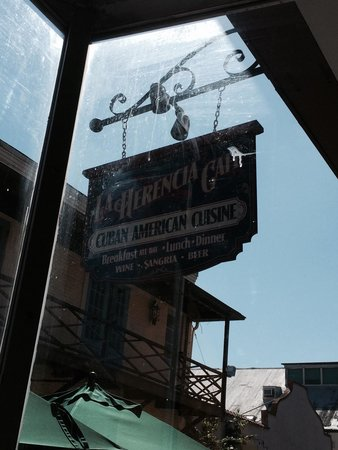 La Herencia Cafe : We almost walked right by this gem. Glad we didn't.