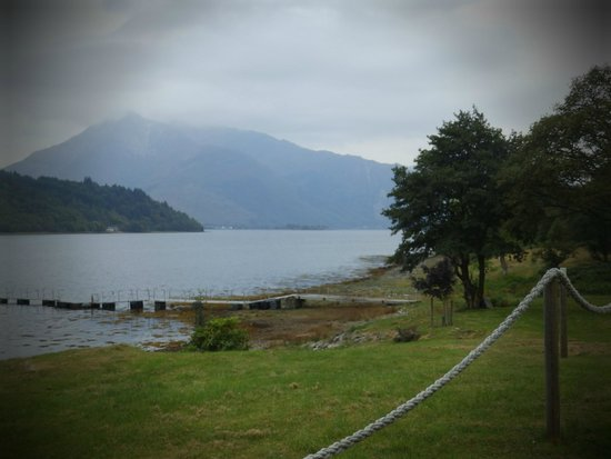 Loch Leven Holidays: The View