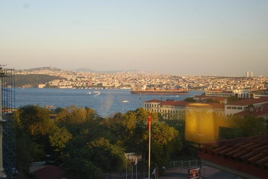 Grand Hyatt Istanbul: That's Asia over there!