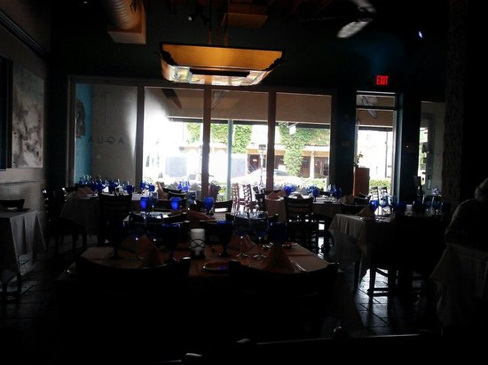 Aqua Seafood & Steaks : View from inside
