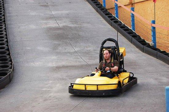 LazerPort Fun Center: go-karts!!