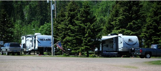Grand Marais RV Park and Campground: campsites