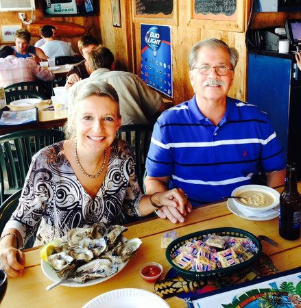Big Sam's Grill and Raw Bar: Oysters and She Crab Soup