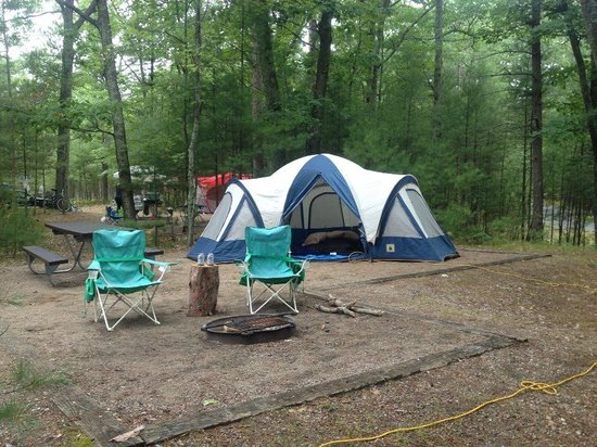 Platte River Campground: Our Campsite