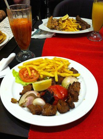 Golden Fork: блюдо 1