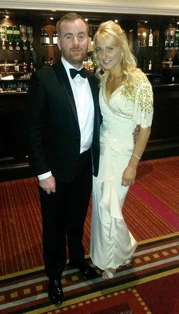 Glasgow Marriott Hotel: Our Trustee & his wife