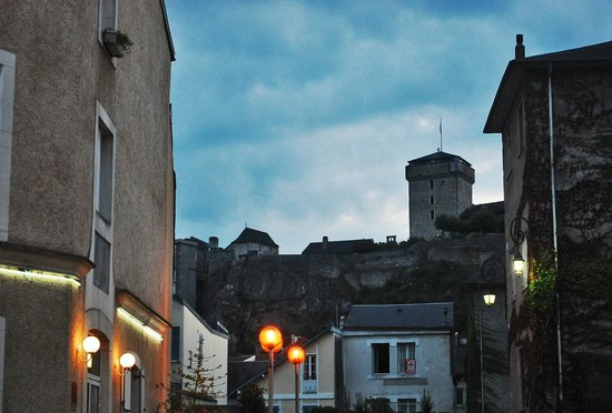 Chateau Fort de Lourdes : You can see it from everywhere in the city