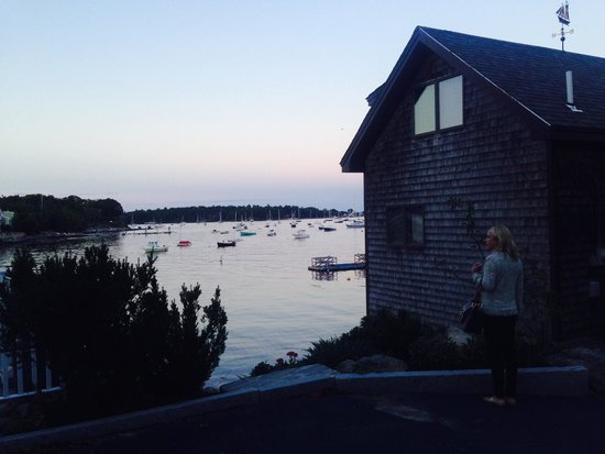 Relais & Chateaux Camden Harbour Inn : Camden Harbor is very picturesque