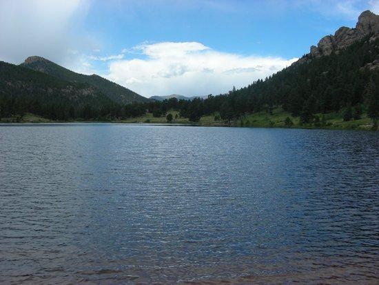 Lily Lake Trailhead: View of Lily Lake