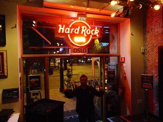 Hard Rock Cafe: hall de entrada
