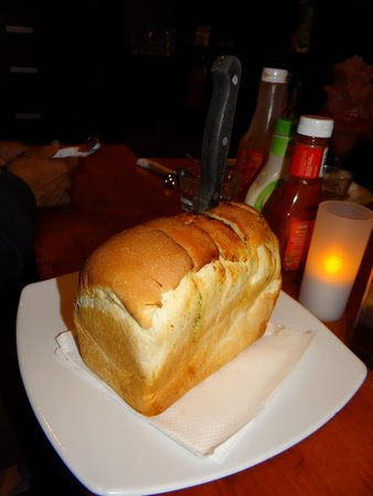 The Landing : Best Garlic Bread I have ever eaten