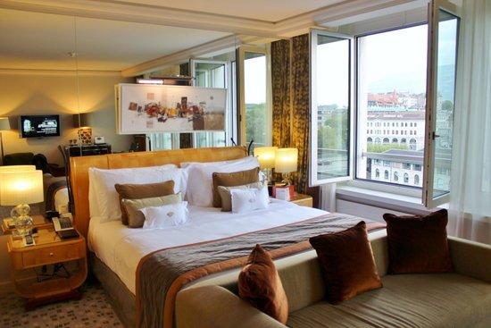 Mandarin Oriental, Geneva : bedroom