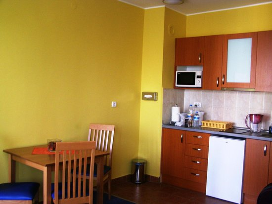 Spirit Hostel & Apartments : kitchen
