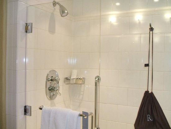 Renaissance Raleigh North Hills Hotel: Shower in Bathroom