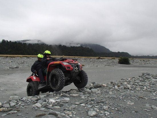 Across Country Quad Bikes: Riverbed