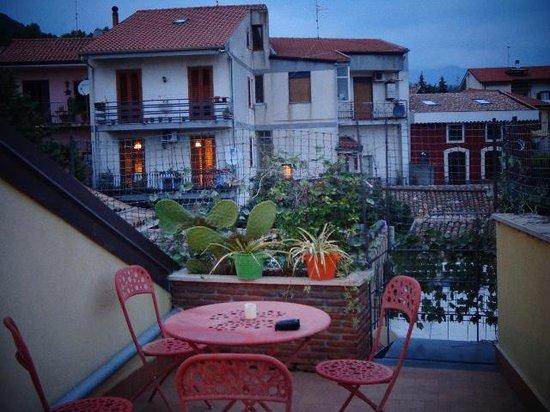 Il Polifemo Etna B&B: Die gemütliche Dachterrasse