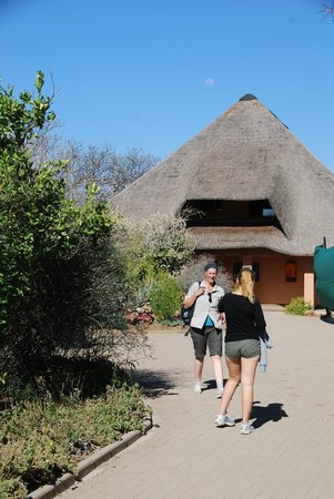 Cheetah Conservation Fund: Das Hauptgebäude
