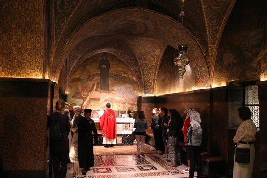 Église du Saint-Sépulcre (Jérusalem) : Messa al Santo Sepolcro