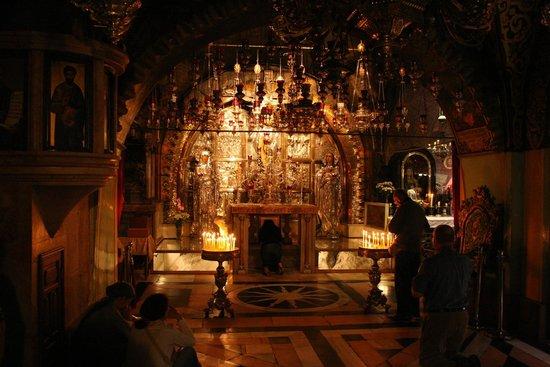Église du Saint-Sépulcre (Jérusalem) : Altare sul Golgota
