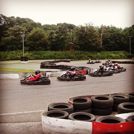 Brentwood Karting: Race league in action