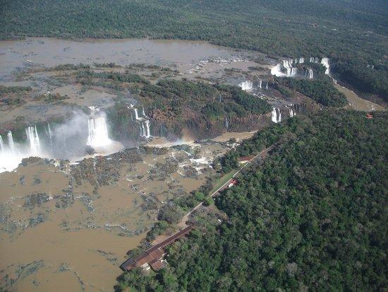 Iguazu Falls: Alejándose de las cataratas