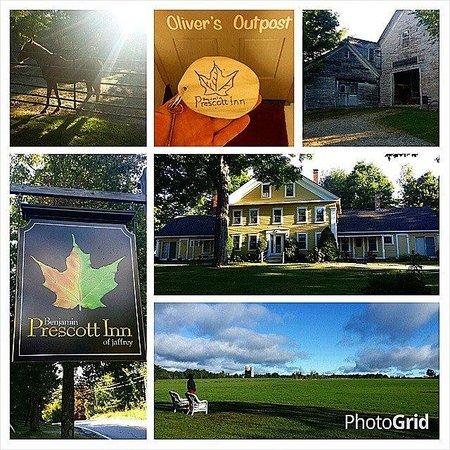 Benjamin Prescott Inn: A collage of pictures from the Benjamin Prescott!