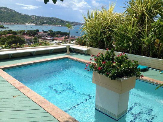 Bellavista Bed & Breakfast: View from the pool!