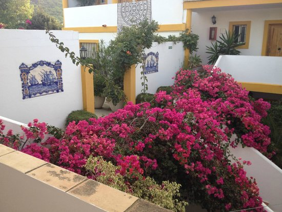 Hostal Fortuna: La terrasse