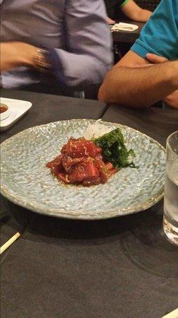 Kabuki: Tartar atun picante