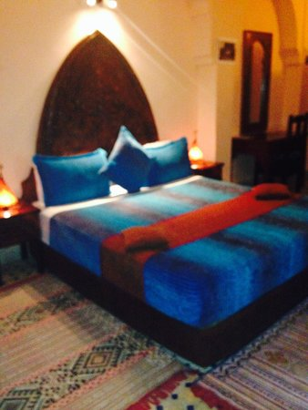 Riad Ahlam: bedroom