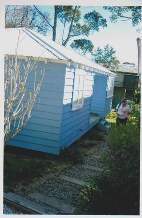 Hyams Beach Seaside Cottages: side of cottage
