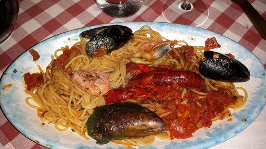 Salvatores Trattoria : Spagetti Pescatora