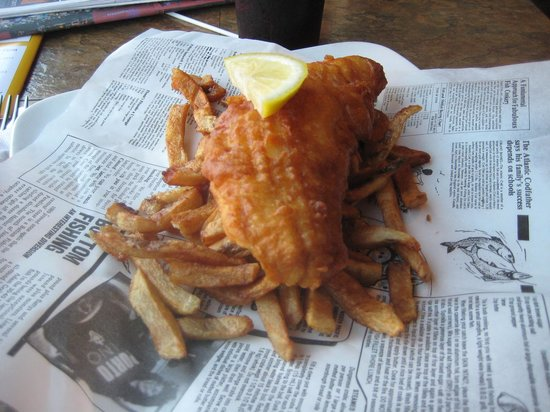 Brits Fish and Chips: Small App