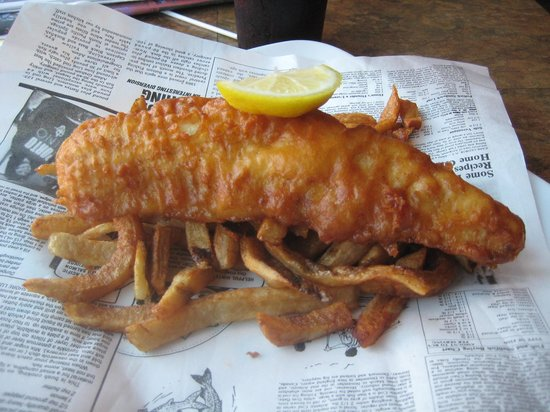 Brits Fish and Chips: Small App 2