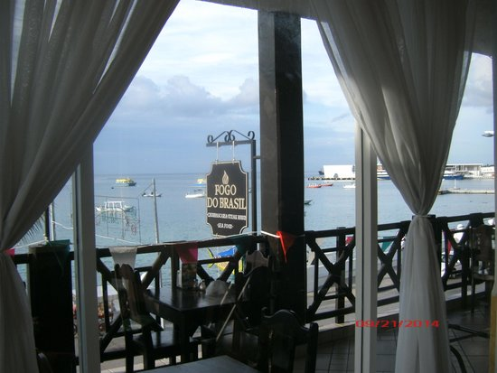 Vista del Mar Boutique Hotel: The view from inside room out across balcony
