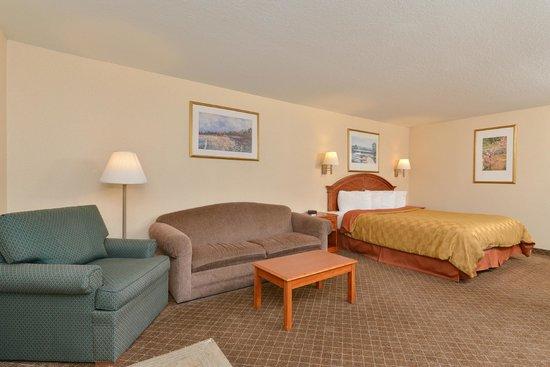 Americas Best Value Inn & Suites: VIP King Jacuzzi Suite