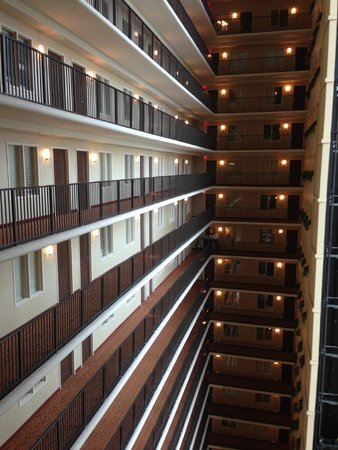 Embassy Suites by Hilton Tampa - Downtown Convention Center: Hallway