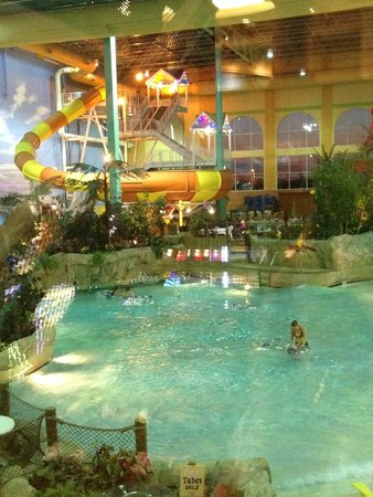 KeyLime Cove Indoor Waterpark Resort: Waterpark on weekdays - great time to go