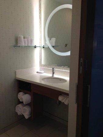 SpringHill Suites Ewing Princeton South: Bathroom