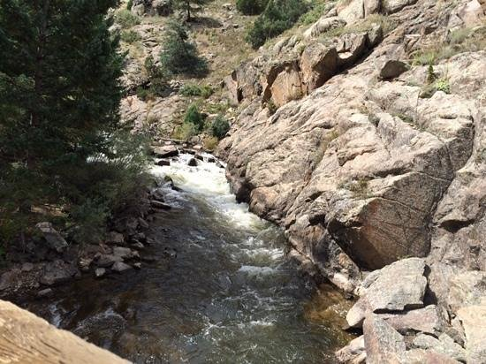Eldorado Canyon: part of this trail followed the river