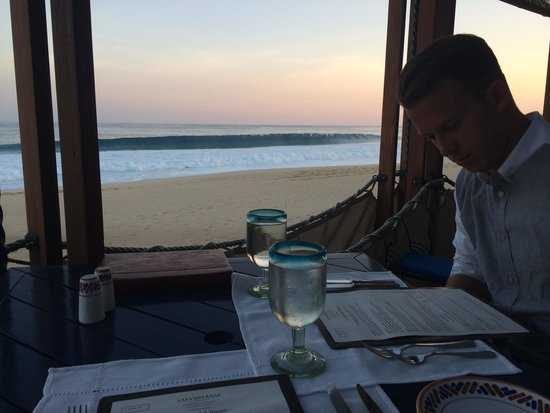 The Restaurant @ Las Ventanas al Paraiso: Dinner at Sea Grill at Las Ventanas