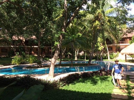 The Lodge at Uxmal: one pool area