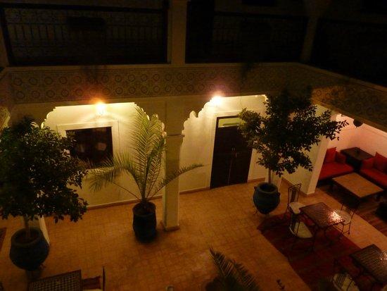 Riad Shaloma: vue de la terrasse sur notre suite !