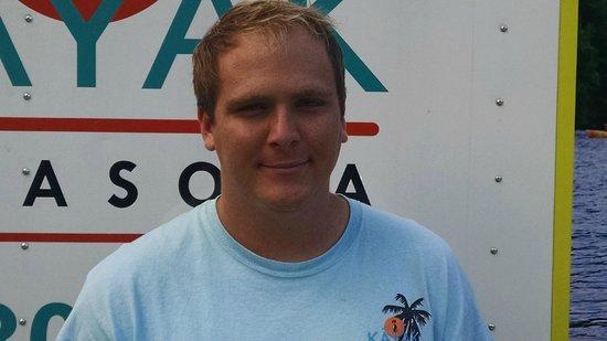 I Kayak Sarasota: Bryan, site manager