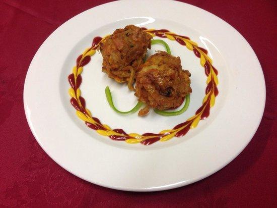 khan Tandoori: delicious Onion Bhaji