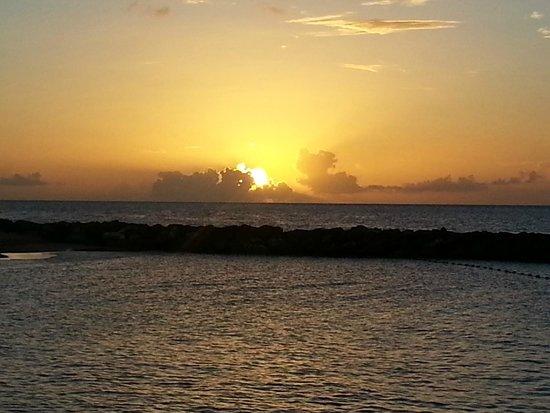 Sandals Grenada Resort & Spa: Sunset on 09.21.2014